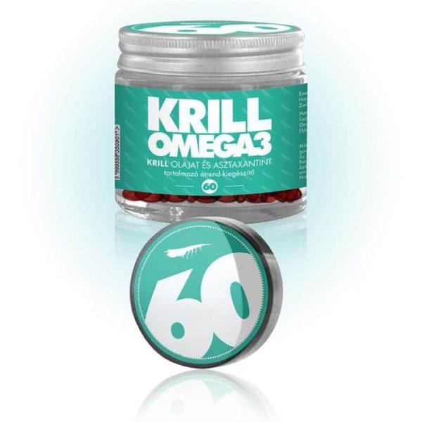 NKO Krill Omega3 - 100% tisztaságú rákolaj gélkapszula - 60db