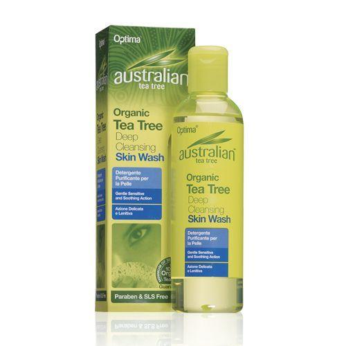 Optima Ausztrál Teafa bőrlemosó gél - 250ml