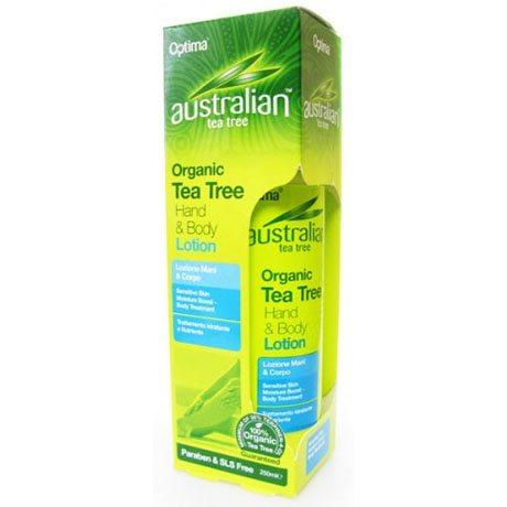 Optima Ausztrál Teafa kéz- és testápoló - 250ml