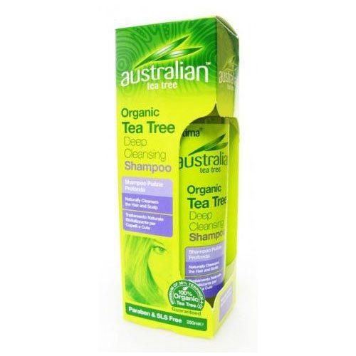 Optima Ausztrál Teafa mélytisztító sampon - 250ml