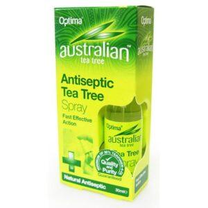 Optima Ausztrál antiszeptikus Teafa spray - 30ml