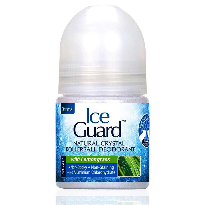 Optima Ice Guard kristály dezodor citromfű - 50ml