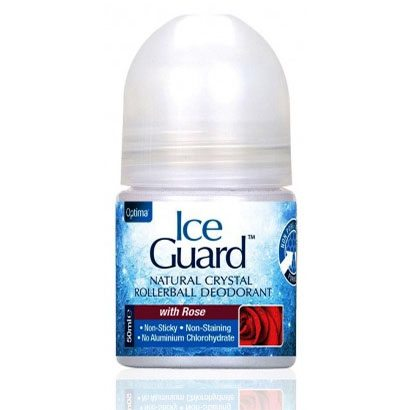 Optima Ice Guard kristály dezodor rózsa - 50ml
