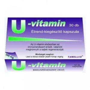 Tawellco U-vitamin kapszula - 30db