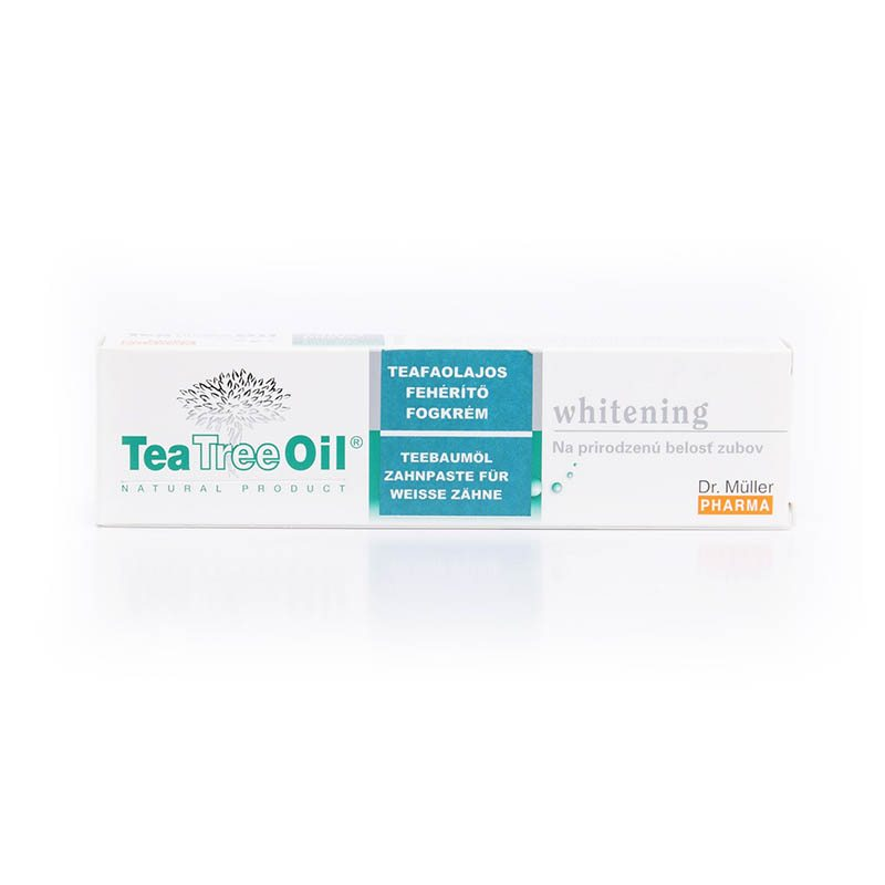 Dr. Müller Tea Tree Oil teafa whitening fogkrém - 75 ml