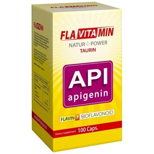 Flavitamin Nature+Power Apigenin kapszula - 100 db
