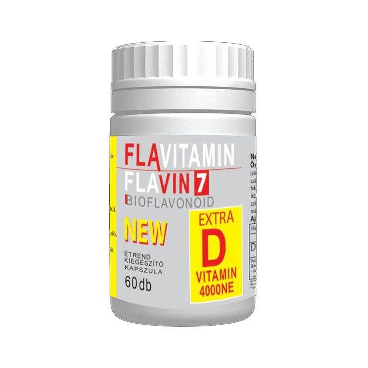 Flavin7 Flavitamin D vitamin - 60 db