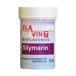 Flavin7 Flavitamin Sylimarin kapszula - 60 db
