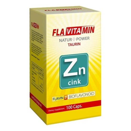 Flavitamin Nature+Power Cink kapszula - 100 db