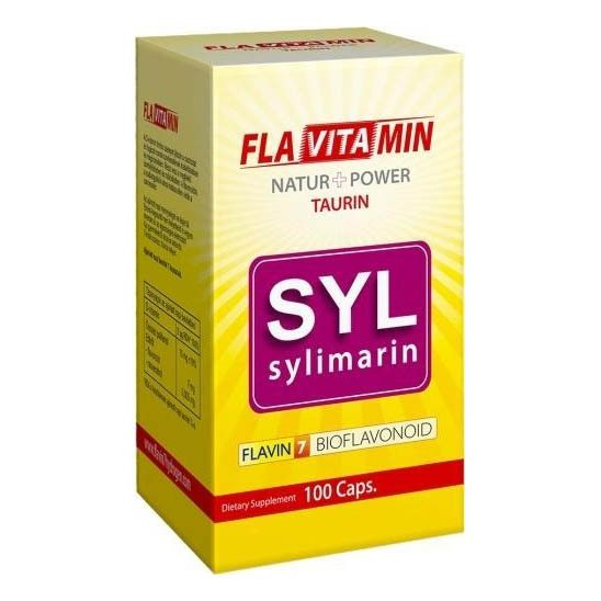 Flavitamin Nature+Power Sylimarin kapszula - 100 db