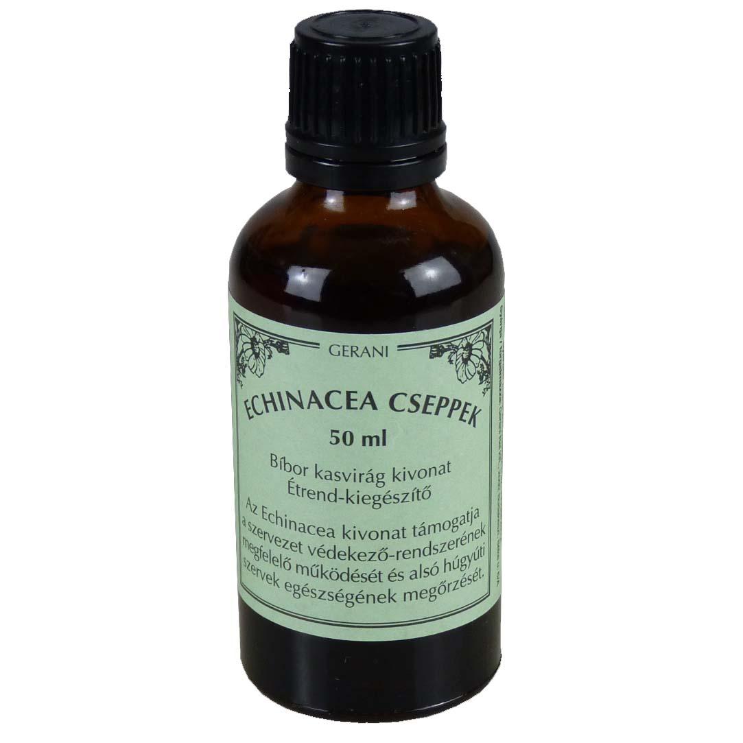 Gerani echinacea cseppek - 50ml