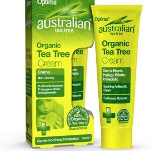 Optima Ausztrál antiszeptikus teafa krém – 50ml