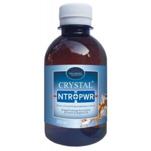 Crystal NTR+PWR Silver víztisztító berendezésen szűrve Grapefruitmag-kivonattal - 200ml
