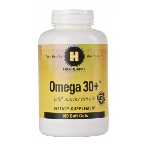 Highland Omega 30+ halolaj kapszula - 180db