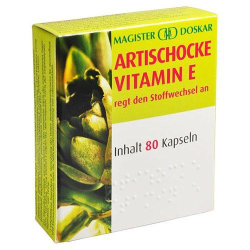 Magister Doskar articsóka és E-vitamin kapszula - 80db
