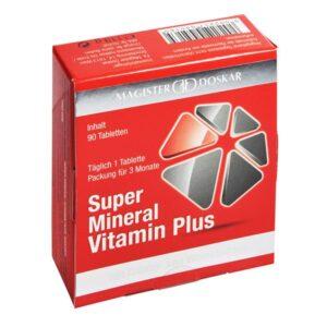 Magister Doskar Super Mineral Vitamin Plus tabletta - 90 db