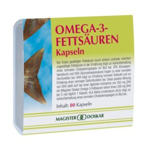 Magister Doskar omega-3 lazacolaj kapszula - 80db