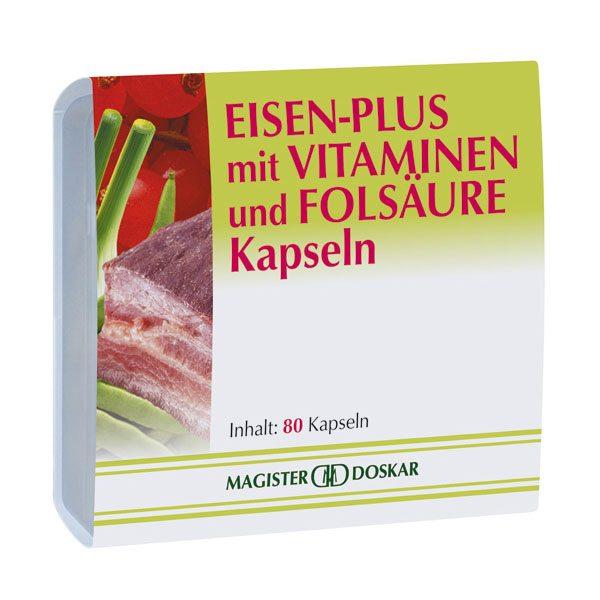 Magister Doskar vas-plusz kapszula - 80 db