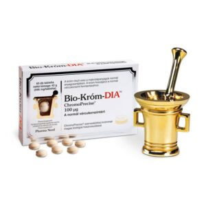 Pharma Nord Bio Króm-Dia tabletta - 30db