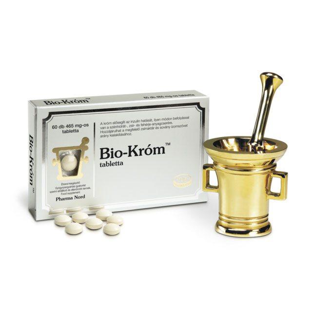 Pharma Nord Bio Króm tabletta - 60db