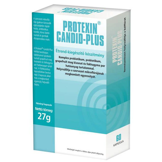 Protexin Candid Plus kapszula - 60 db