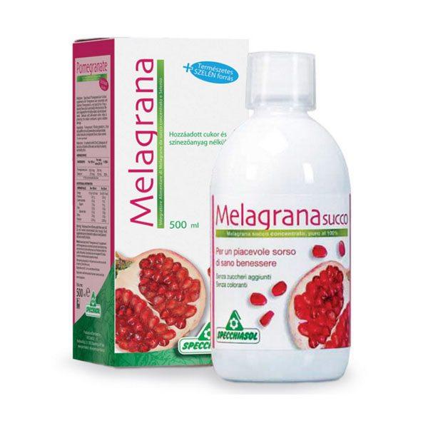 Specchiasol Melagrana 100%-os gránátalma koncentrátum szelénnel – 500ml