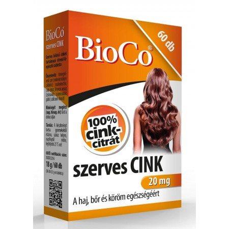BioCo szerves cink - 60db
