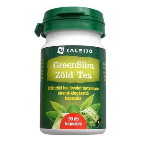 Caleido GreenSlim Zöldtea kapszula - 90db