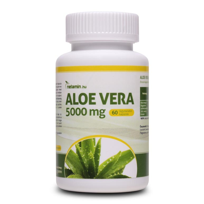 Netamin Aloe Vera 5000mg kapszula - 60db
