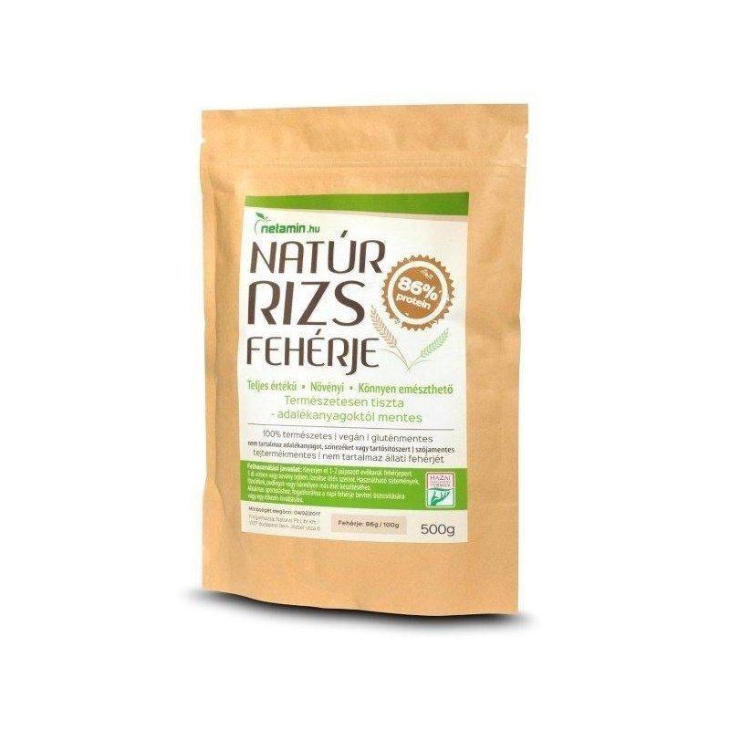 Netamin Natúr Rizs fehérje - 500g