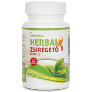 Netamin HERBAL Zsírégető tabletta - 30db