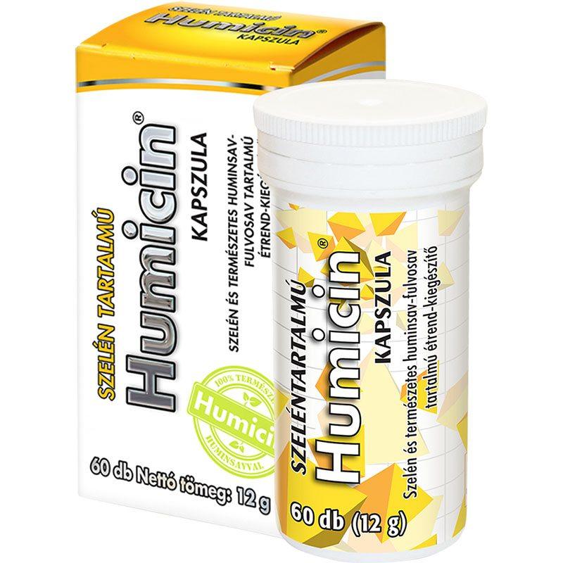 Humicin szelén kapszula - 60db