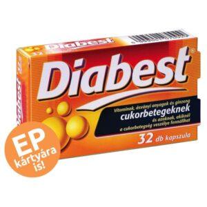 InnoPharm Diabest kapszula - 32 db