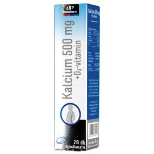 InnoPharm Kalcium + D3-vitamin pezsgőtabletta - 20db