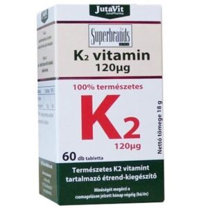 Jutavit K2-vitamin tabletta - 60db
