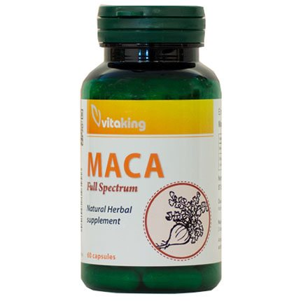 Vitaking Maca 500mg kapszula - 60db