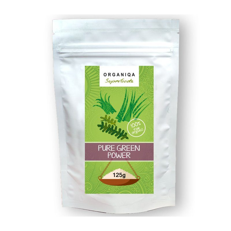 Organiqa Pure green power (nyers, bio) - 125g