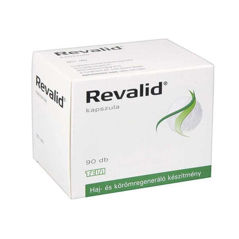 Revalid haj és körömregeneráló kapszula - 90db