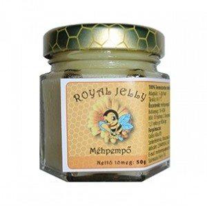 Royal jelly természetes méhpempő - 50g