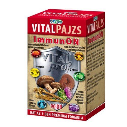 Vital Prof Vitalpajzs immunON tabletta - 90db