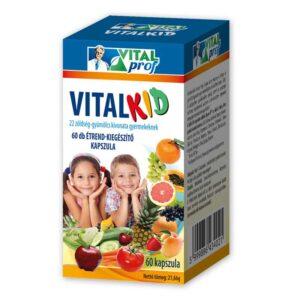 Vital Prof Vitalkid 22 multifrutti kapszula - 60db