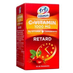 1x1 Vitamin Retard C-vitamin 1000mg + D3 + csipkebogyó tabletta