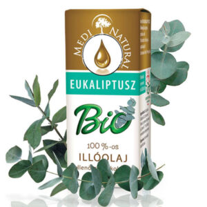 Medinatural bio illóolaj eukaliptusz - 5ml