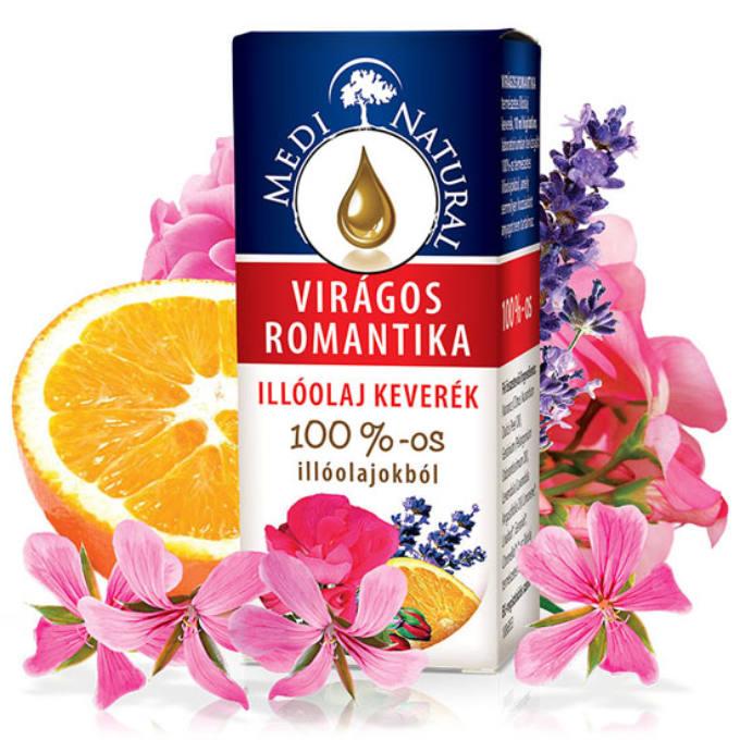 Medinatural illóolaj virágos romantika - 10ml