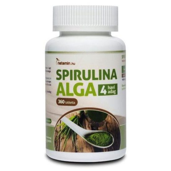 Netamin Spirulina Alga tabletta - 360db