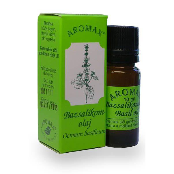 Aromax Bazsalikom illóolaj - 10 ml