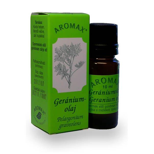 Aromax Geránium illóolaj - 10ml
