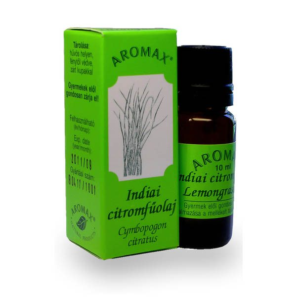 Aromax Indiai citromfű illóolaj - 10 ml
