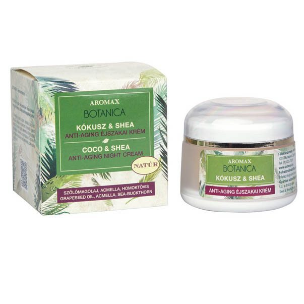 Aromax Botanica anti-aging éjszakai krém - 50ml