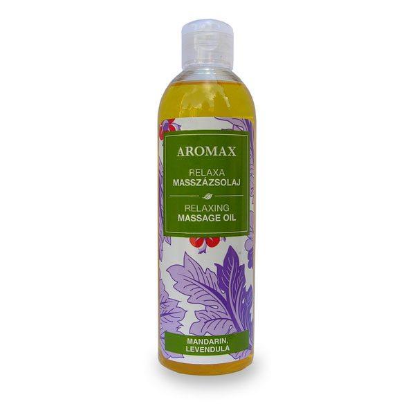 Aromax Relaxa masszázsolaj - 250 ml